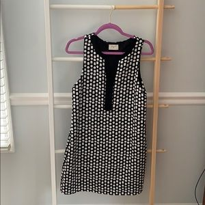 New with tags black and white polkadot dress